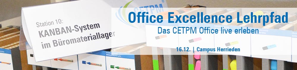 Office Excellence Lehrpfad