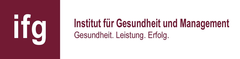 Logo IfG GmbH Institut für Gesundheit und Management