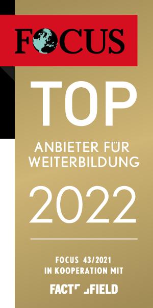 FOCUS TOP Anbieter für Weiterbildung 2022