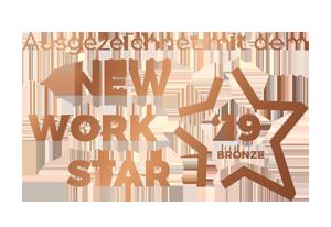 Ausgezeichnet mit dem New Work Star 2019