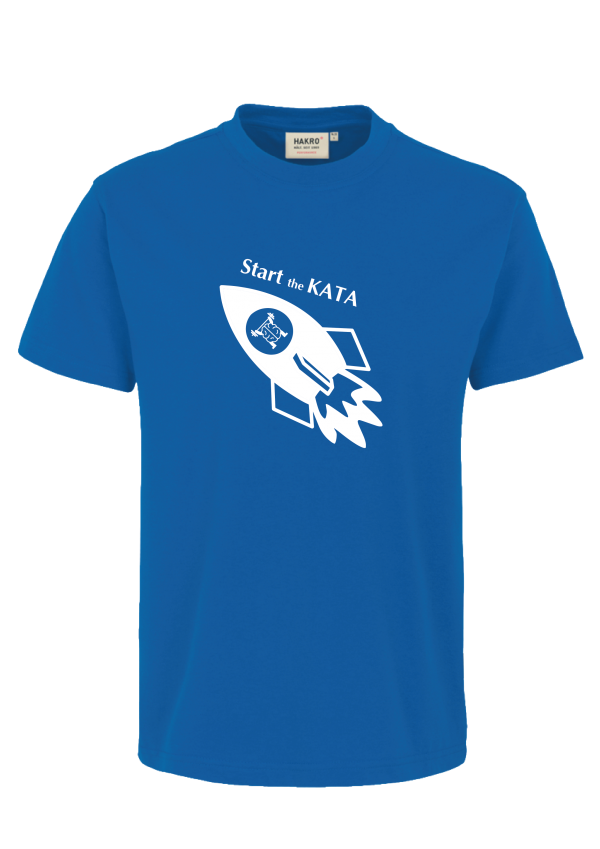 "KATA Shirt ""Start the KATA"""