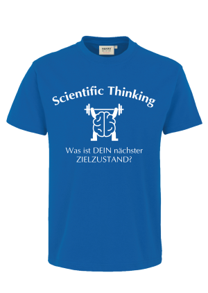 "KATA Shirt ""Scientific Thinking - Zielzustand"""