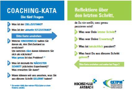 """KATA-Coaching-Karte - """"Du""""-Version"""