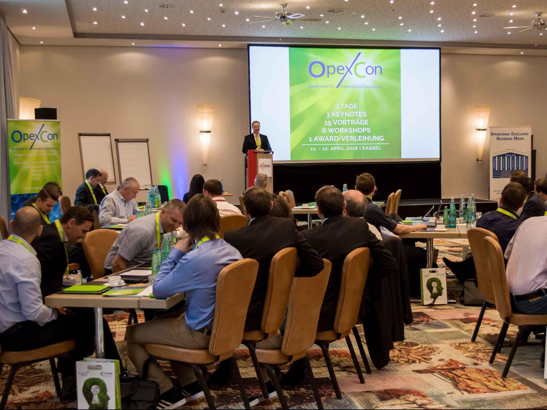 OPEXCON Konferenz 2018 11. - 12.04.2018 in Kassel