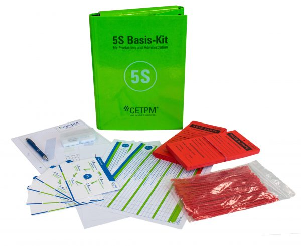 5S Basis-Kit für Produktion und Administration