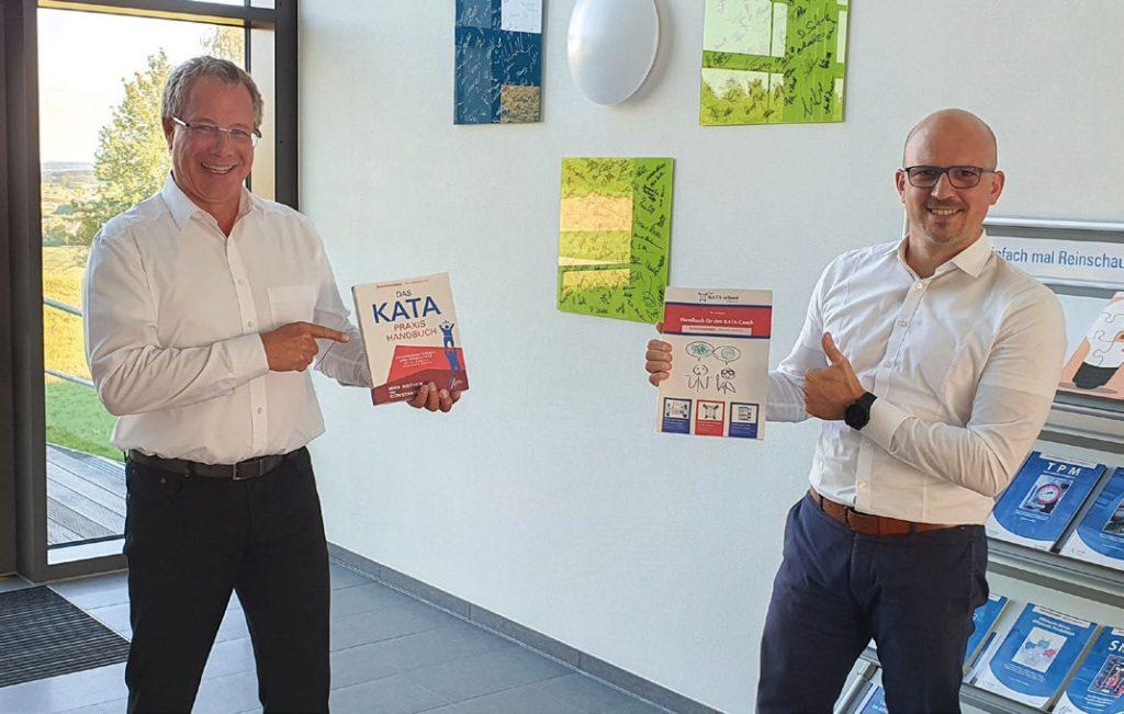 Prof. Dr. Constantin May und Tilo Schwarz